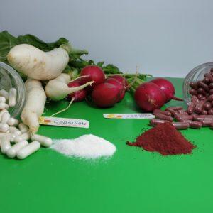 كبسولات الفجل الابيض White radish capsules